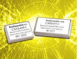 Transmitter/Receiver Modules offer remote control switching.