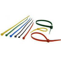 Locking Cable Ties come in 8 lengths and 5 colors.