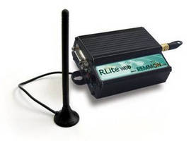 Remote DAQ System transmits information to cell phones.
