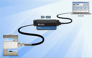 Load Cell Interface draws power from USB port.
