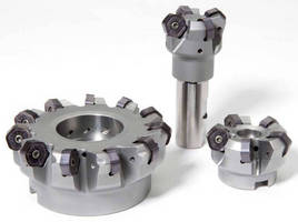 Face Mill Inserts work with aluminum, non-ferrous materials.