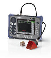 Ultrasonic Flaw Detector features rugged, portable design.