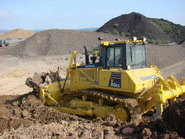 Crawler Dozers handle heavy dozing and finishing operations.