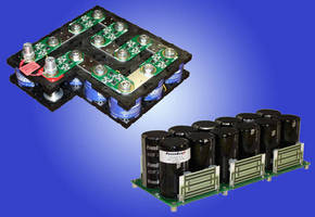 Custom Ultracapacitor Modules target military applications.