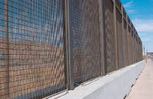 Security Fencing features no-climb design.