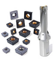 Indexable Inserts target holemaking applications.