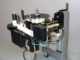 Label Applicator accommodates range of label sizes.