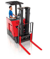 Stand-Up Counterbalanced Lift Trucks offer optimal maneuverability.