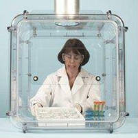 Clear Polycarbonate Fume Hoods offer 360 visibility.