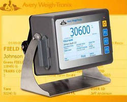 Touchscreen Weight Indicator suits agricultural applications.