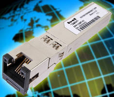 SFP Transceiver delivers GbE speeds over Cat 5/5e UTP cable.