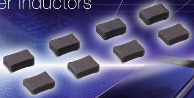 Compact Power Inductors offer optimized DC bias characteristics.