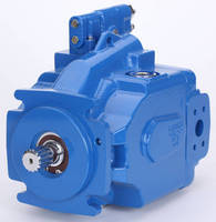 Piston-Type Open Circuit Pumps suit mobile/stationary jobs.