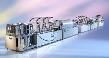 PV Metallization System operates up to 600 mm/sec.