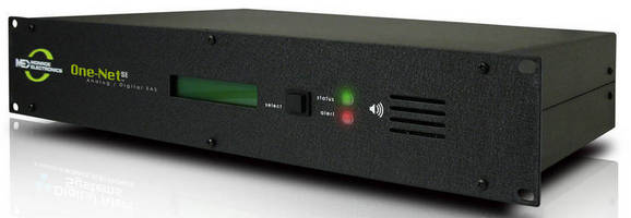 Emergency Alert System Encoder/Decoder helps ensure FCC compliance.