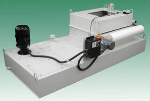 Gravity Conveyor Filter suits primary/secondary applications.