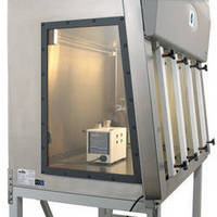 Biosafety Cabinet incorporates decontamination system.
