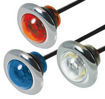 Auxiliary LED Strobe Lights enhance emergency applications.