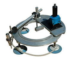 Portable, Abrasive Waterjet Cutter suits hazardous locations.