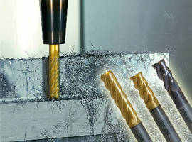 End Mills optimize machining of challenging materials.