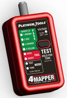 Coax Cable Tester concurrently tracks up to 4 connections.