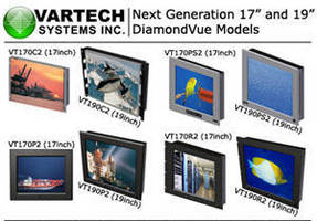 Industrial Flat Panel LCD Monitors have ruggedized design.