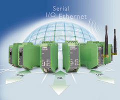 Industrial Modems offer remote communication with machines.