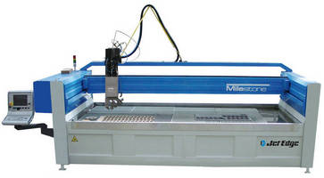Five-Axis Waterjet Cutting Machine cuts through any material.