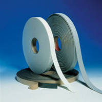 Vinyl NitrileFoam Tape seals HVAC, roof curbs, and pipes.