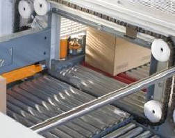 Mid-Speed Case Palletizer operates at up to 75 cases/min.