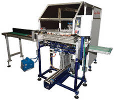 Automated Casing-In Machine provides hard cover bookbinding.