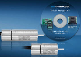 Brushless DC Servo Motor integrates motion controller.