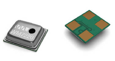Digital MEMS Microphones suit portable electronics applications.