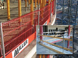 Barrier Systems provide safety for multiple workers.