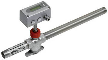 Flow Meter measures compressed air and gas consumption.
