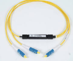 Fiber Optic Couplers/Splitters minimize bend loss. .