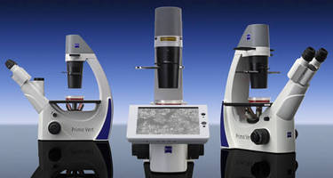 Tissue Culture Microscope has compact, ergonomic design.