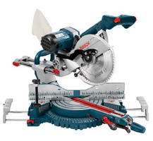 Dual-Bevel Sliding Miter Saw features 10 in. chassis.