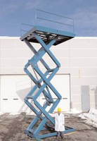 Material Handling Lifts handle up to 6,000 lb loads.