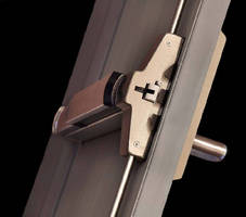 Exit Device Latching System features storm resistant design.