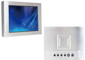 Industrial Panel PC fully complies with IP65 standard.