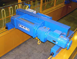 Wire Rope Hoists offer 50 and 100 ton capacities.