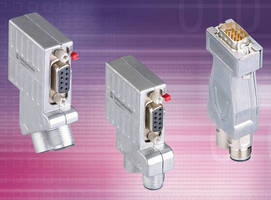 Profibus DP Connectors eliminate manual shielding setup.