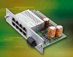 Fan-Free PoE Modules allow use of 16 Ethernet ports per switch.