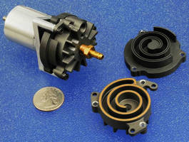 Continuous Scroll Compressor Serves Battery Powered Equipment