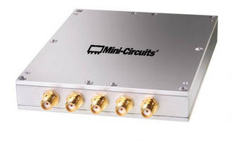 Power Splitter targets test and measurement applications.
