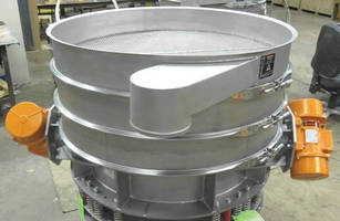 Screener classifies bulk material into 3 fractions at high rates.