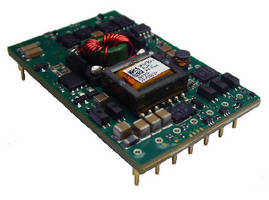 Dual-Input Power Module  targets AdvancedTCA applications.