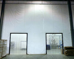 Washdown Curtain Wall suits food and beverage operations.