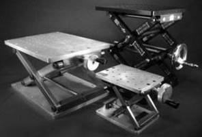 Scissor Lift Tables offer near deflection-free operation.